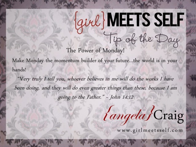 GMS Tip of the Day Monday