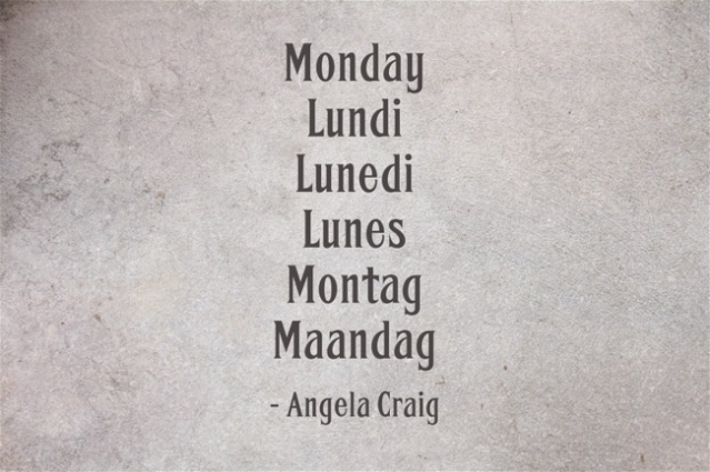 Monday-Lundi-Lunedi